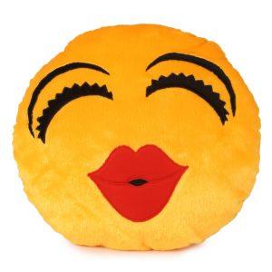 Sublimation Round Smiley Cushion