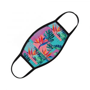 Polyester Sublimation Printed Face Mask