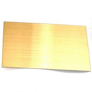 Metal Sheets Golden